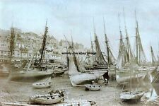 rp14096 - Fishing Boats in Brixham Harbour , Devon - photo 6x4