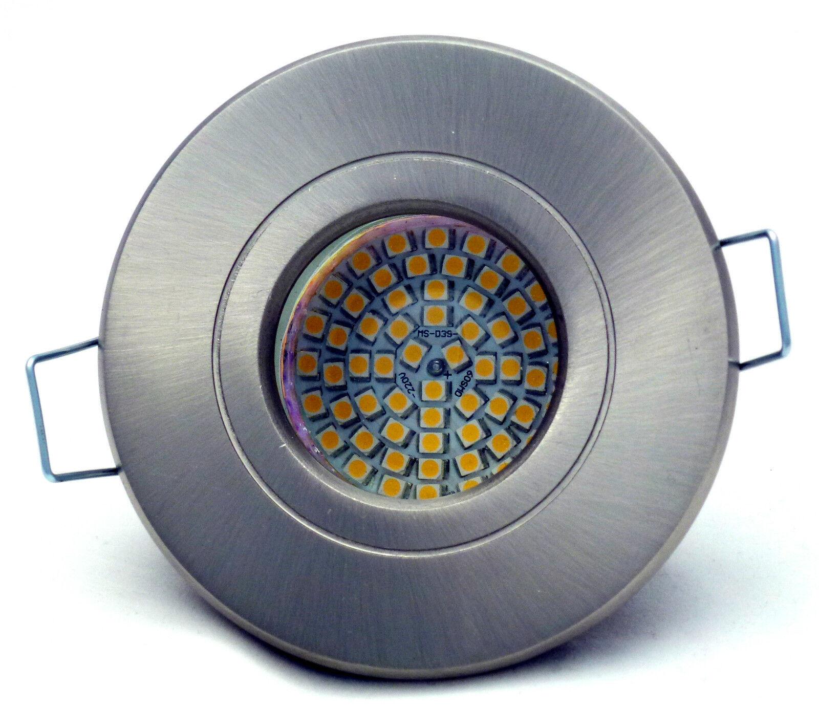 Dusch SOFFITTO FARETTO Aquarius 230v 60er SMD SMD SMD LED 3w  25w gu10 ip54 0726de