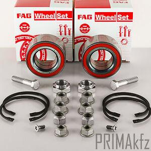 2-FAG-713800810-Radlagersatz-vorne-Vorderachse-Seat-Cordoba-Ibiza-VW-Golf-Jetta