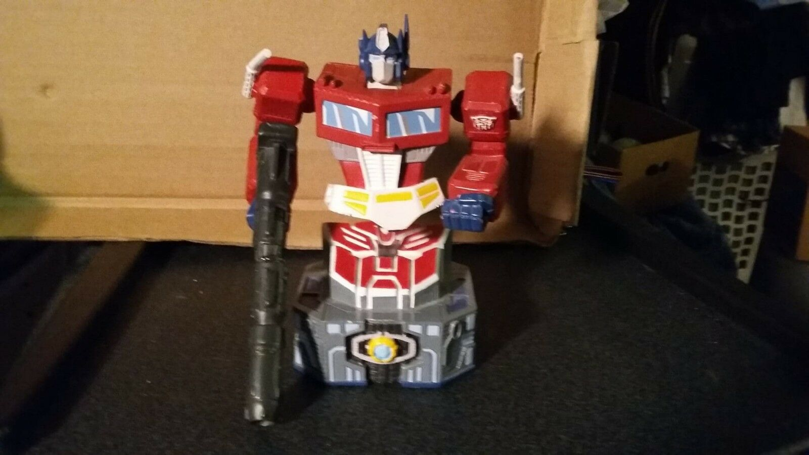 Rare Transformers G1 Optimus Prime Bust Diamond Select 3181500 With Issues