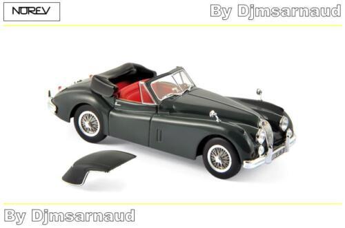 Ech 1//43 Jaguar XK140 Cabriolet de 1957 Dark Métallic Grey  NOREV NO 270032