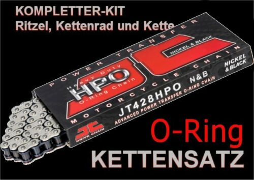 JT o-Ring catene frase rafforzato KAWASAKI BN Eliminator 125 bn125a anno 97-2007