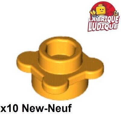 10x Plate Round 1x1 Fleur Flower rose foncé//dark pink 33291 NEUF Lego