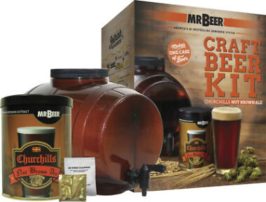 Mr. Beer Churchills Nut Brown Ale Starter Kit