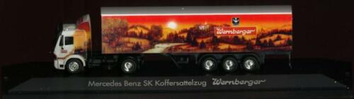 MB-SK Wernberger Koffersattel PC 120005 Herpa