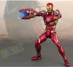 KO S.H.Figuarts SHF Toy Marvel Avengers Infinity War Iron Man Mk50 Action Figure