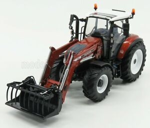 UNIVERSAL HOBBIES 1/32 NEW HOLLAND | T5.120 TRACTOR WITH 740TL FRONT LOADER 2...