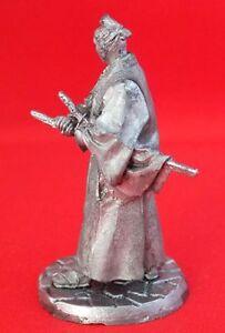Samurai in a kimono 54mm Model Tin Miniature sculpture Figurine Toy soldier