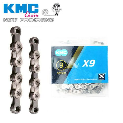 KMC X9 X9.93 MTB Road Bike Chain 116L 9 Spd Shimano SRAM Campagnolo Missinglinks