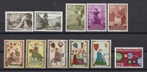 Liechtenstein-postfrisch-Jahrgang-1961-komplett
