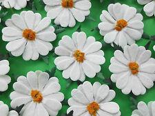 "50! XXL Mulberry Paper Daisies - White Daisy Flower - Slight Seconds - 50mm/2"""