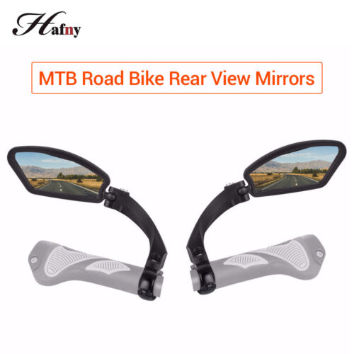 Hafny HF-MR080 Bicycle Mirror Back Safety Mirror Handlebar Rearview Mirror 360°