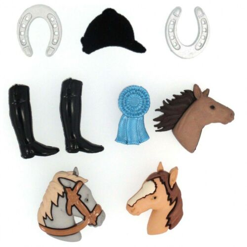 Dress It Up Shaped Novelty Buttons Triple Crown DressItUp-6552 per pack