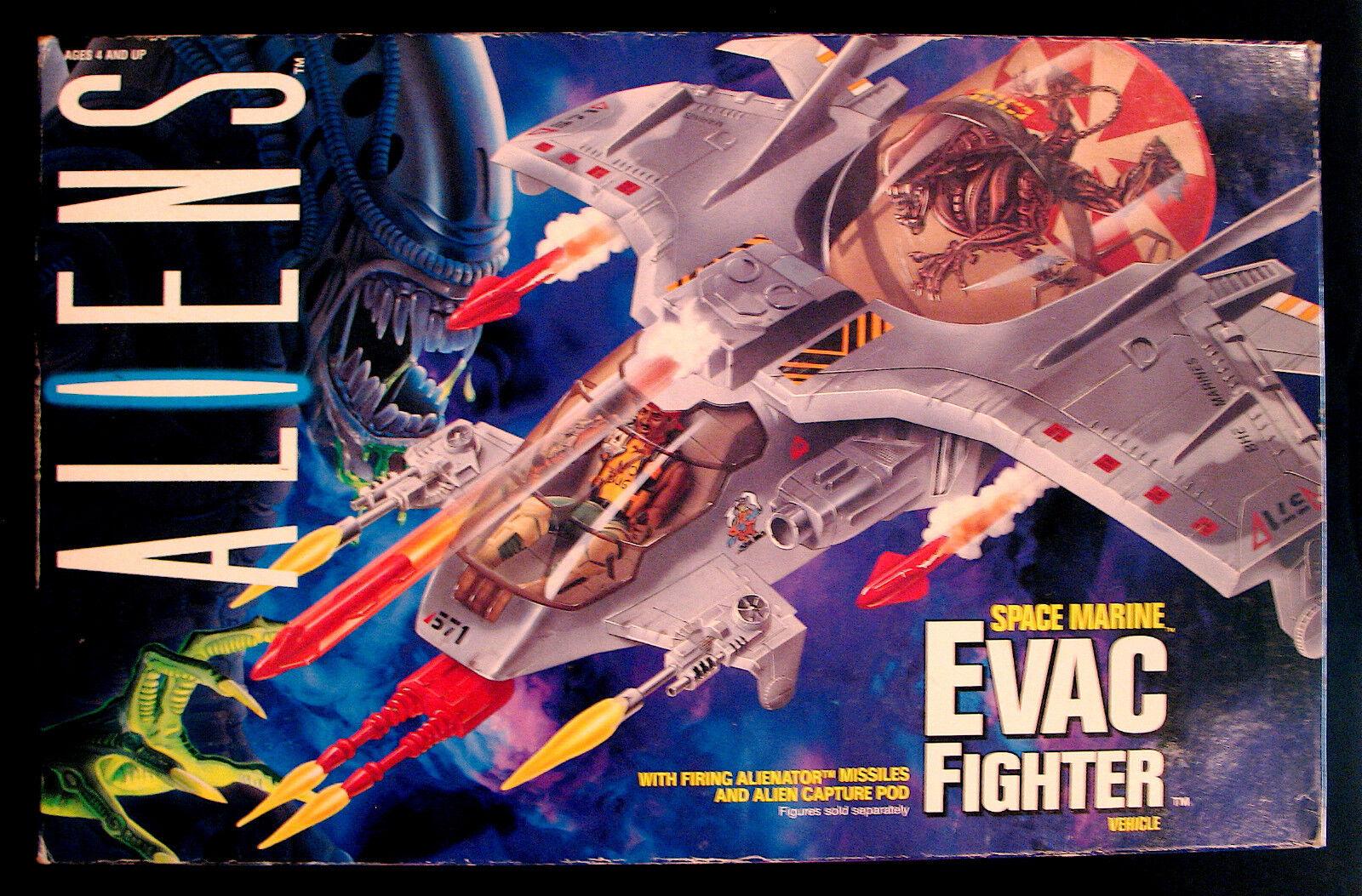 ALIENS-SPACE MARINE EVAC FIGHTER-Unopened-1992 Vintage Toy-KENNER