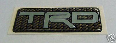TRD LOGO EMBLEM TOYOTA RACING DEVELOPMENT PTR26-17640 GENUINE TOTOTA PART