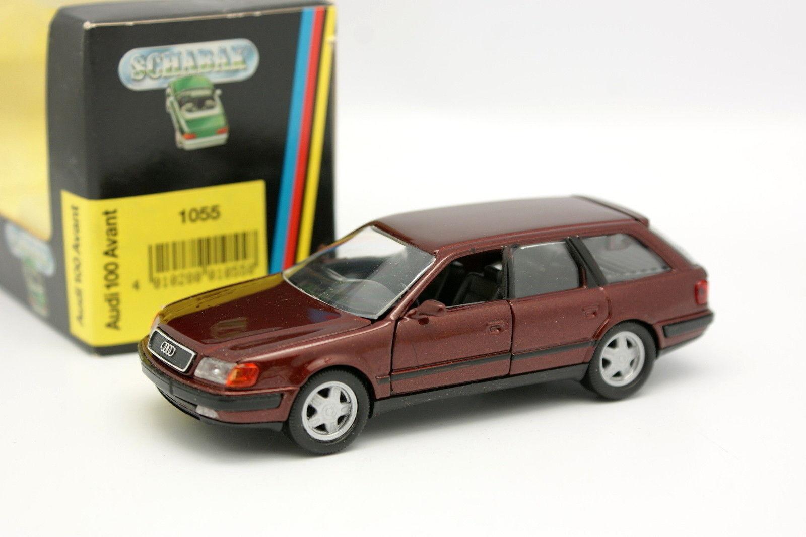 Schabak 1 43 - Audi 100 Avant Rouge C4