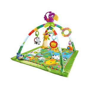 Neu-Mattel-Fisher-Price-Rainforest-Erlebnisdecke-6632565