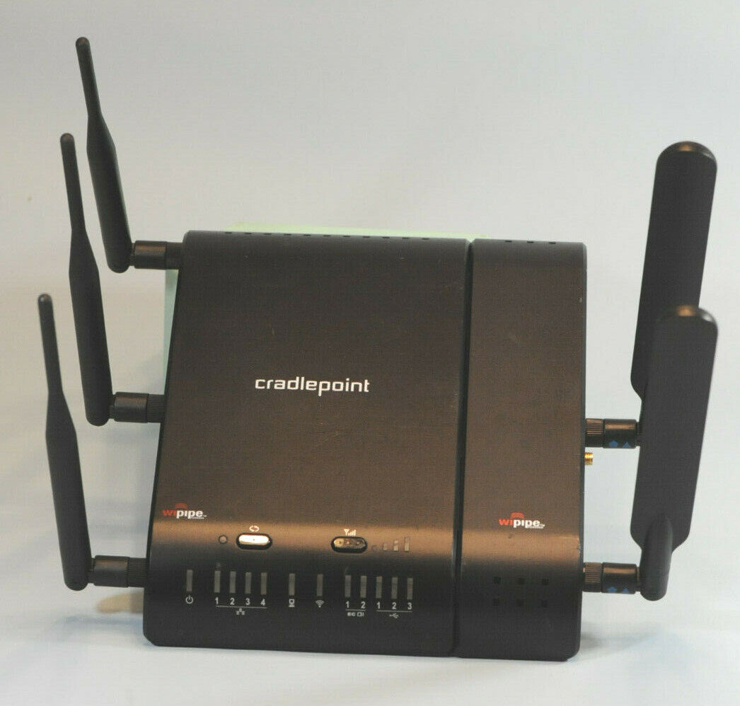 MBR1400V2LPE-SP Sprint WiFi Router 5 Ethernet w//Antennas and 120vac-12vdc Power