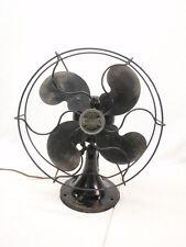 "Antique 10"" Emerson Model 2250B Oscillator Electric Table Fan"