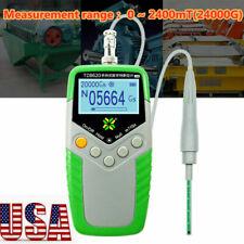 Td8620 Digital Hand Gauss Meter Surface Magnetic Field Tester Flux Measurement