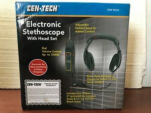 ELECTRONIC-STETHOSCOPE-WITH-HEAD-SET-WORKING