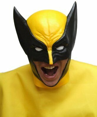Wolverine X-MEN MASK OGAWA RUBBER MASK Halloween Made in Japan F//S Tracking Num