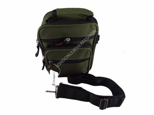 Multiple Zipped Holiday Travel Bag Men/'s//women/'s Canvas Shoulder//Cross body Bag