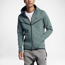 100% Auth Nike Men's Tech Fleece Windrunner Hasta Heather sz L [805144-386]