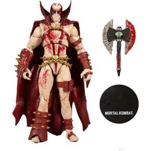 Mcfarlane Mortal Kombat 4 Action Figure Spawn Bloody