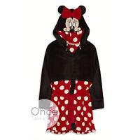 Primark Ladies Disney Minnie Mouse Bath Robe Dressing Gown Bathrobe