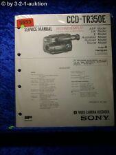 Sony Service Manual CCD TR350E (#3553)