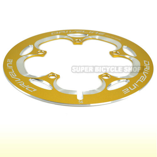 Driveline Chain Guard 56T Gold 162g BCD 130mm