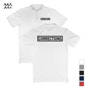f92debc0 MENS CORRECTIONS POLO T SHIRT LAW ENFORCEMENT SHIRTS POLICE OFFICER ...