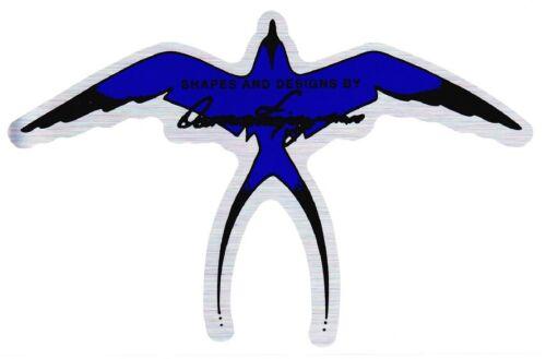 Donald Takayama Bird Sticker