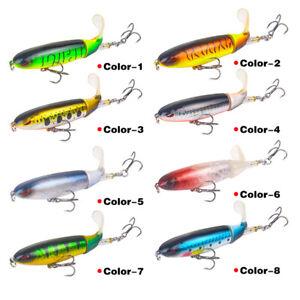 NE-10cm-Outdoor-Rotating-Tail-Floating-Hard-Fishing-Bait-Lure-Tackle-Sharp-Hook