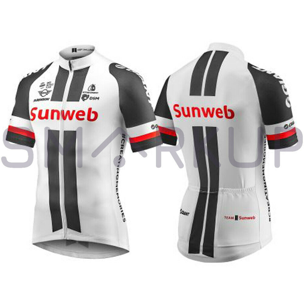 New  2019 GIANT TEAM SUNWEB REPLICA SS Cycling Bike JERSEY White XS-XXL  sale with high discount