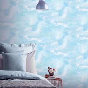 Diamant-Galaxy-Cloud-Papier-Peint-Rouleaux-Bleu-Arthouse-902004-Paillette