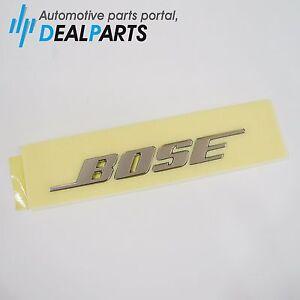 Genuine Renault Chrome-coated BOSE Emblem
