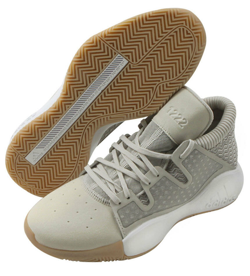 12ed10e39a4f6 Adidas Pro Vision Men s Basketball shoes NBA Casual Beige Sports Bounce  D96945