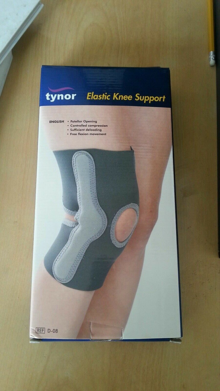 Elastic knee support (one  piece)  brand