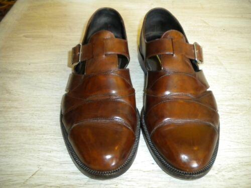 Bragano Italy Brown Fisherman Sandals 8.5M