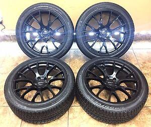 20 20 inch dodge charger challenger hellcat wheels rims goodyear tires 4 set ebay. Black Bedroom Furniture Sets. Home Design Ideas