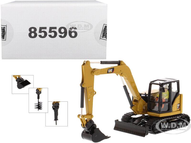 selección larga Cat Caterpillar 308 CR Mini excavadora hidráulica hidráulica hidráulica 1 50 por Diecast Masters 85596  Ahorre hasta un 70% de descuento.