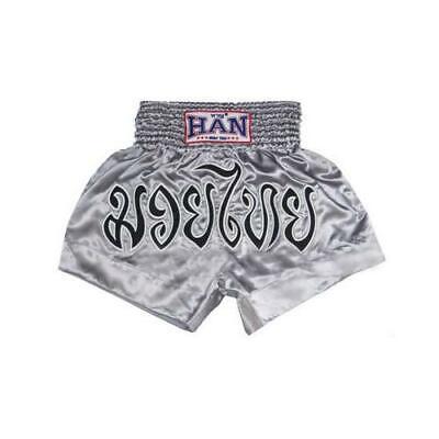 Black HAN Muay Thai shorts The Showdown