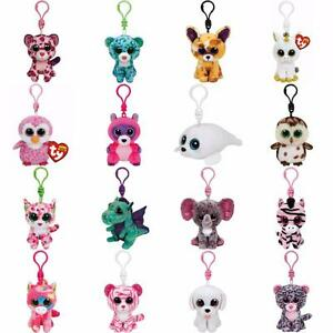 864bcf7efbc Ty Beanie Boo Clips - Key Chain or Back Pack Clip BNWT - Choose your ...