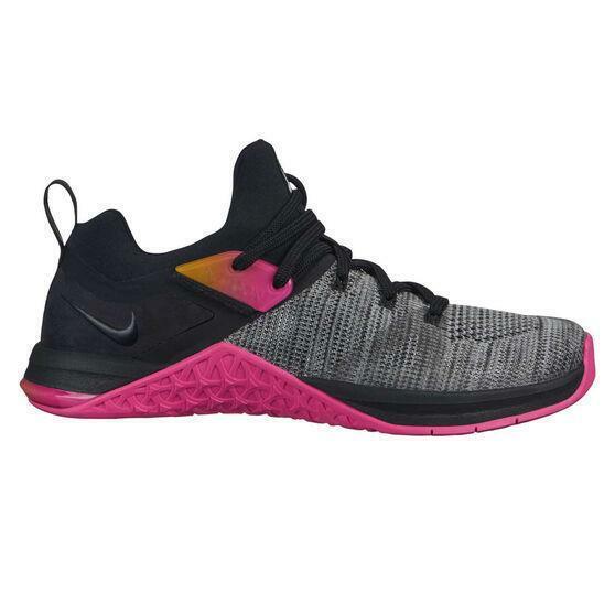 Metcon Flyknit 3 Black Pink Grey