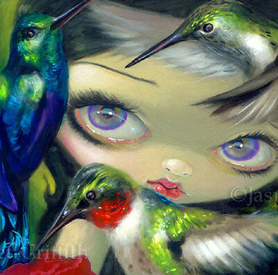 Fairy Face 165 Jasmine Becket-Griffith SIGNED 6x6 PRINT