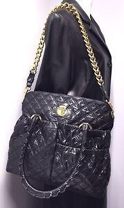 401ac06c9c62 MARC JACOBS Women s Julianne Stam Quilted Black Calfskin Bag Medium ...