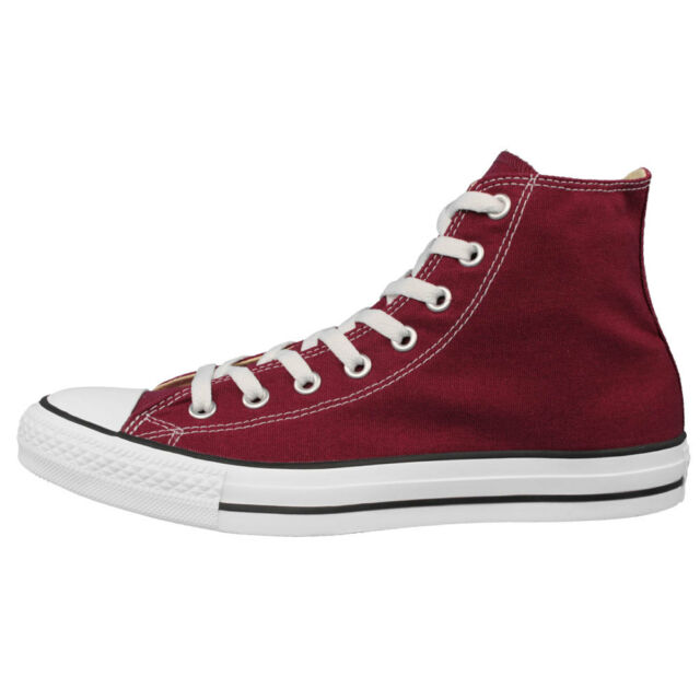 b513680b77d00a Converse All Star Hi Shoes Chucks Maroon Wine Red M9613 EUR 43 for sale  online