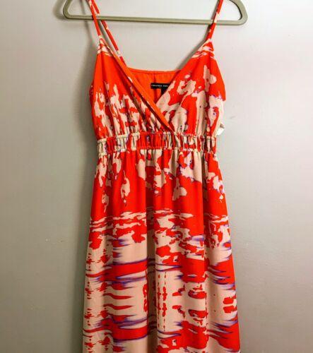 CREATIVE COMMUNE NWT MAXI DRESS RED BLUE WHITE ORI